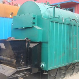 DZL Biomass Fired Chain Grate Boiler